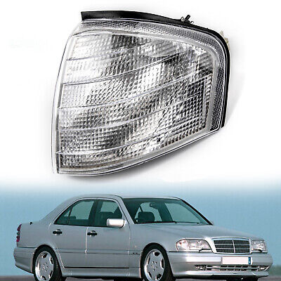 Left Corner Light Turn Signal Lamp Fits Mercedes Benz C Class W202 1994-2000 BU
