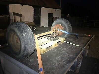 Tractor Trailer Axle/ Braked/ Agricultural Axle