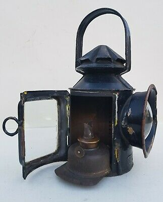 Steam Agricultural or Traction Engine, Road Roller Oil Headlamp Eli Griffiths
