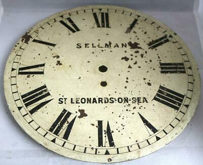 Antique English Dial Clock Sellman St Leonards On Sea Dial Wall Clock Spares