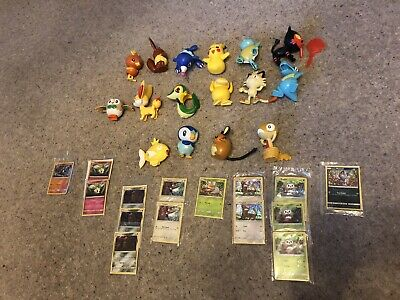 Pokemon McDonalds Figures Toys Full Set of 16 Figures Pikachu Squirtle Torchic..