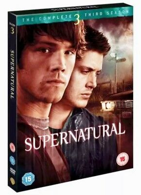 Supernatural Complete Third Series 3 Season 3 DVD NEW DVD