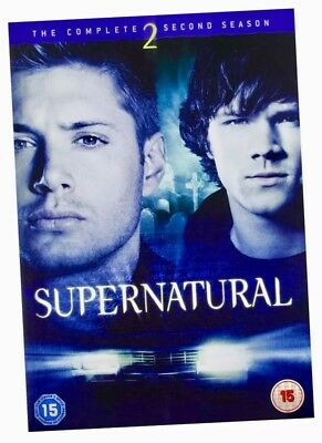 Supernatural Complete Second Series 2 Season 2 NEW DVD