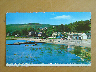 Old Postcard Of Whiting Bay, Isle Of Arran