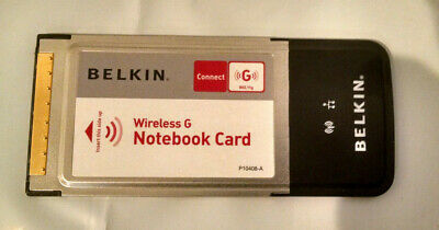 F5D7010 BELKIN WIRELESS G NOTEBOOK CARD DRIVER FOR WINDOWS DOWNLOAD