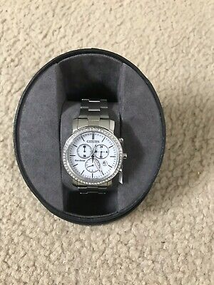Citizen ECO-Drive FB1410-58A Chronograph Stainless Steel Women's Watch