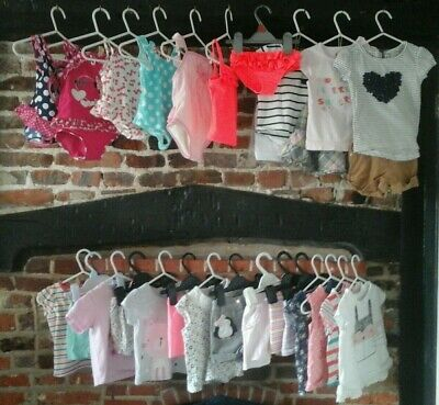 Baby Girl Clothes Bundle. 9-12 Months summer holiday mix & match H&M,Next & more