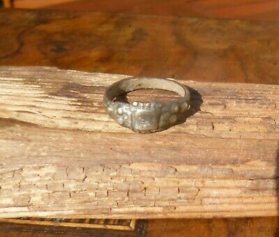 Late Medieval or Tudor Fashioned Ring-British Detecting Find