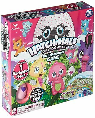 Hatchimals Colleggtibles The EGGventure Game w/ Exclusive Figure Mystery Egg NEW