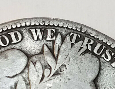 NICE FULL RIMS 1915 S  Barber Half Dollar OLD TYPE 50 CENT COIN FREE SHIPPING