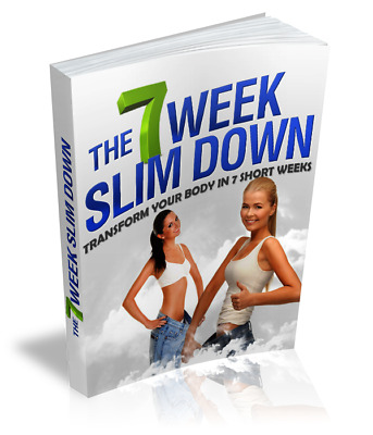 7 Week Slim Down eBook PDF with Full Master Resell Rights