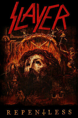 Slayer Fabric Poster Flag - Repentless Tapestry Cloth Banner