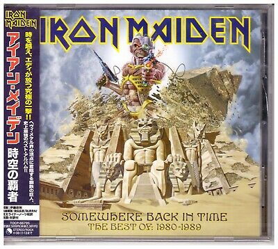 Iron Maiden , Somewhere Back In Time , The Best Of: 1980-1989 ( CD_Japan)