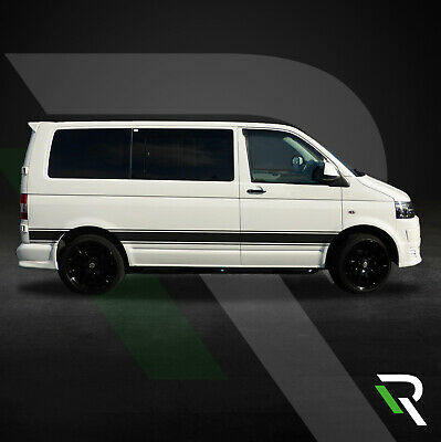 ef72cacfac Volkswagen Vw Transporter T5 Side Stripe Graphics Vinyl Stickers Decals