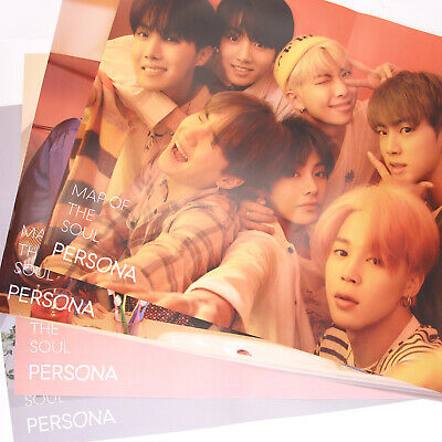 [BTS]MAP OF THE SOUL:PERSONA / Official 'UNFolded' Poster/ver.1,2,3,4,All