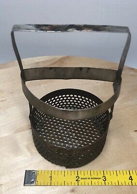 Vintage Chemestry Lab-Goldsmithing-Jewelers Stainless Steel Small Holding Basket