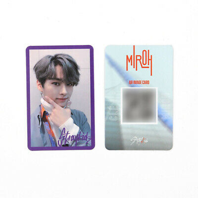 [STRAY KIDS] SKZ / Cle1 : MIROH Official Photocard / Purple Border - LEEKNOW