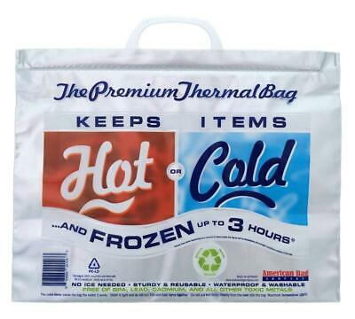 5 PACK INSULATED grocery bag hot and cold bag thermal bag