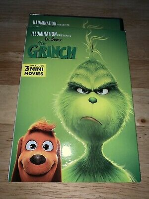 Brand New Dr Seuss' The Grinch DVD 2019 W/ Slipcover