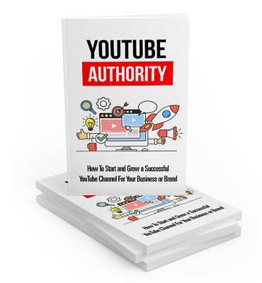Youtube Authority eBook PDF with Full Master Resell Rights