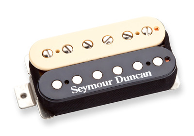 New Seymour Duncan SH-6n Distortion 4-Conductor Humbucker Neck Zebra in Box USA