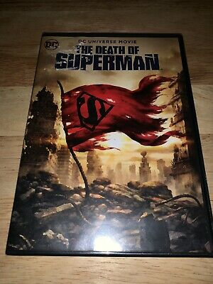 Brand New The Death of Superman DVD 2018 DC UNIVERSE