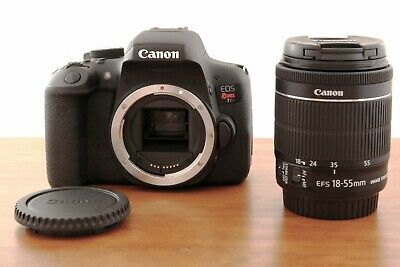 Canon EOS Rebel T6i 24.0MP DSLR Camera - Kit w/ EF-S IS STM 18-55mm - Free Ship