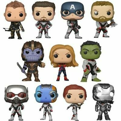 Endgame Avengers 4 Team Suit Thanos Pop Vinyl Figure Funko Hawkeye Thor Captain