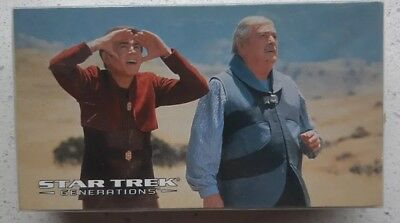 1994 Skybox Star Trek Generations The Movie: Complete Base Set  (72 cards)
