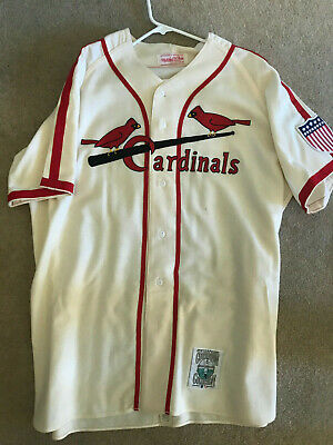 buy online bd3bf f151b MITCHELL AND NESS St. Louis Cardinals Stan Musial Jersey - Excellent  Condition