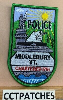 Vermont, Patches, Police, Historical Memorabilia, Collectibles Page