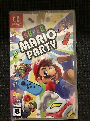 Super Mario Party Nintendo Switch Game Factory Sealed NEW!