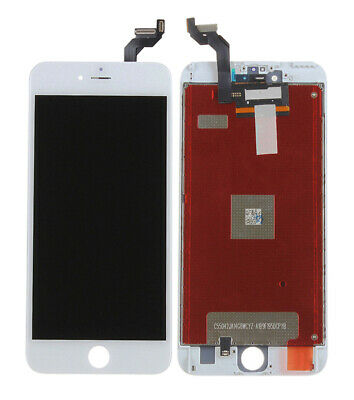 For Iphone 6s plus Replacement White LCD Display Touch Screen Digitizer Frame &y