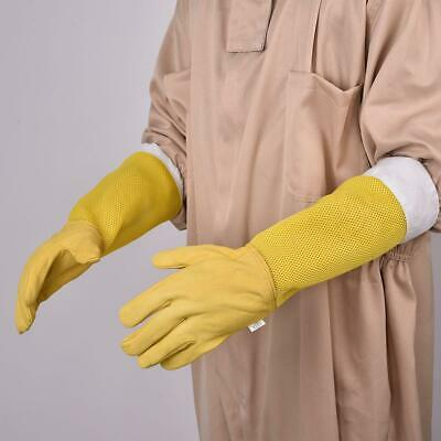 Beekeeping Beekeeper Bee Supplies Gloves Leather Protective Apiarist Tool 1PCS