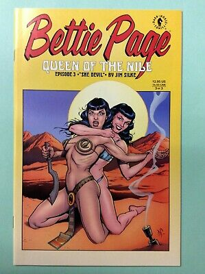 """BETTIE PAGE: QUEEN OF THE NILE #3 of 3 (Apr 2000, Dark Horse) PART 3 """"SHE-DEVIL"""""""