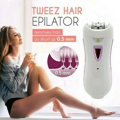 Tweezers  Women Hair Epilator - Automatic Electric Facial Hair Remover Catcher