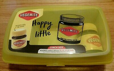 Vegemite 150g jar 2019 limitied edition  with happy little lunch Box  New