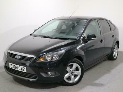 FORD FOCUS 1.6 TDCI DPF ZETEC 5DR 2009 Diesel Manual in Black