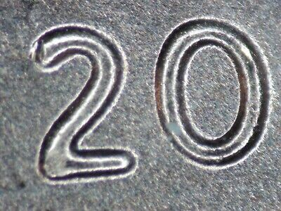 2019 cDDO1 BU Red Unc Lincoln Cent DDO Double Die  Lc124