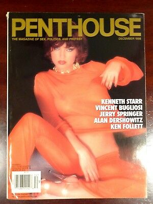 Penthouse Magazine ~ US Edition ~ Volume 30 No. 4 ~ (1998) ~ Pin-Up Glamour