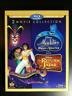 Return of Jafar / Aladdin and the King of Thieves (2 Movie) No Digital Slipcover