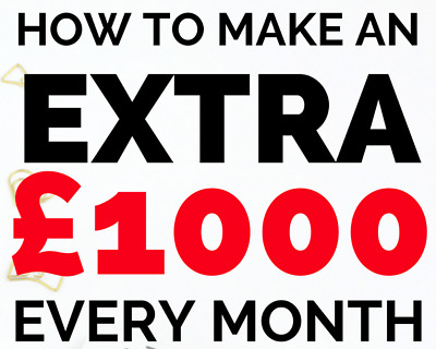 Business Idea For Sale | Make £1,000+ Every Month From Home - Tax-Free! | ££££££