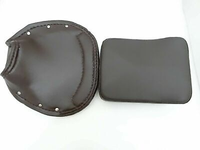 New Vespa Vbb,Super,Px,Rally Front And Rear Seat Cover Set Brown #Vp621 @Cl