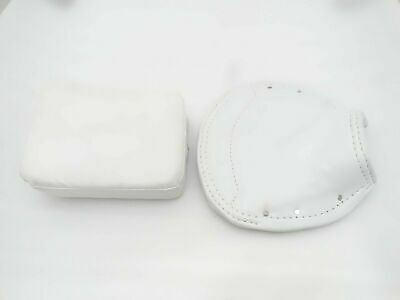 New Vespa Vbb,Super,Px,Rally Front And Rear Seat Cover Set White #Vp622 @Cl