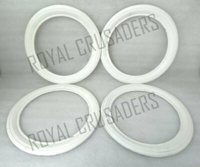 New Vespa White Walls 10'' 4 Pieces For 2 Tyres @Cl