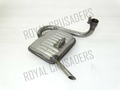 New Vespa Exhaust / Silencer Vbb/150/Super/Sprint @Cl
