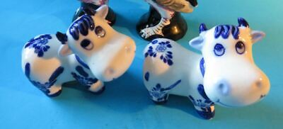 Salt and Pepper Shakers Cows set