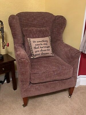 Antique Victorian Wingback Armchair (Fully restored)