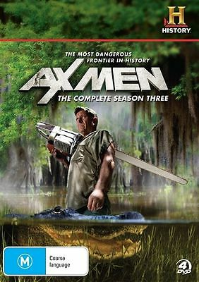 Ax Men : Season 3 Three (DVD, 2011, 4-Disc Set)- NEW SEALED - FREE POST