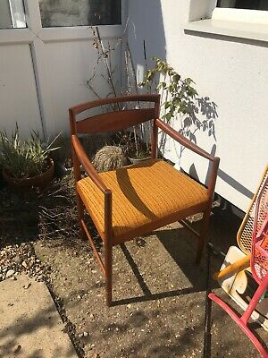 Danish mid century Wood armchair Dining Chair